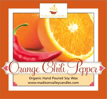 Orange Chili Pepper scent