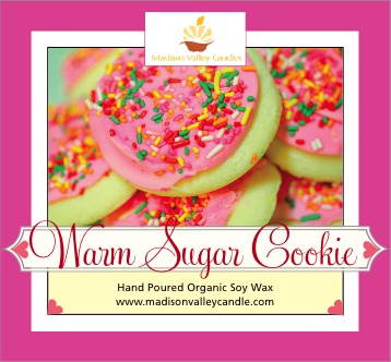 Warm Sugar Cookie scent