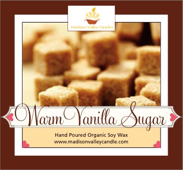 Warm Vanilla Sugar scent